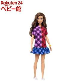 バービー ファッショニスタ トリプルチェックドレス GHW53(1個)【バービー人形(Barbie)】