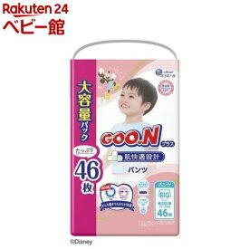 グーンプラス 肌快適設計 パンツ BIGサイズ(46枚*3個セット)【グーン(GOO.N)】