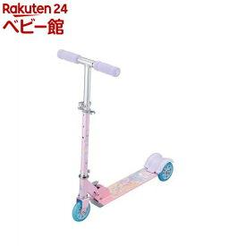 キックスクーター プリンセス ピンク(1台)【アイデス】[三輪車 のりもの スクーター キックボード]