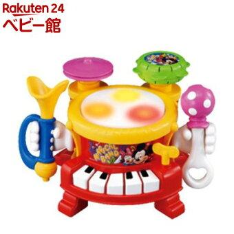 リズムあそびいっぱいマジカルバンド トゥーンタウンミッキー(1個)【タカラトミー】[おもちゃ 遊具 楽器玩具]