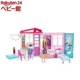 バービー かわいいピンクのプールハウス FXG55(1セット)【mtlhn】【バービー人形】[おもちゃ 遊具 人形 ぬいぐるみ]