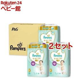 ※まとめ買い不可※ パンパース 肌へのいちばん パンツ M 64枚(3個入*2セット)【パンパース】