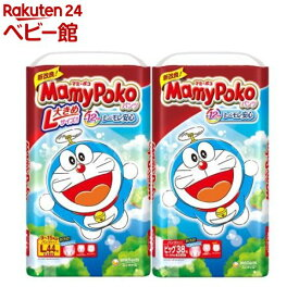 マミーポコ パンツ ドラえもん L/ビッグ(4個セット)【マミーポコ】[おむつ トイレ ケアグッズ オムツ]