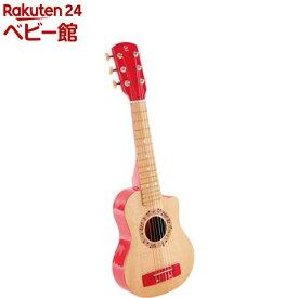 ハペ マイファーストギター赤 E0602(1個)【カワダ】[おもちゃ 遊具 楽器玩具]