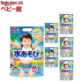 ムーニー 水遊びパンツ 男の子/女の子(8個セット)【ムーニー】