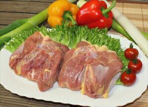 川俣シャモ モモ肉(冷凍) 1kg送料クール60サイズ相当