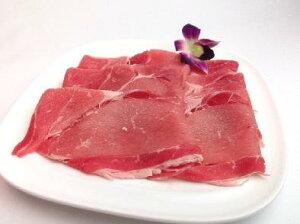 宮崎県産 豚モモ スライス 約1kg 業務用 冷凍 宮崎食肉市場は同梱可