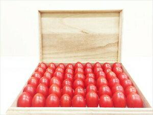 高級手詰め フルーツトマト タイヨウのトマト 桐箱入り トマト 特選