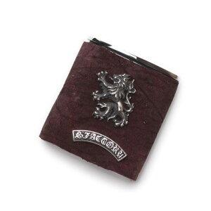 S'FACTORYエスファクトリー ポケット アッシュトレイ ボルドー ヒポ(カバ革) 携帯 灰皿 喫煙具 レザー 革 プレゼント ギフト 吸い殻入れ