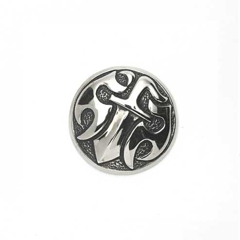 S'FACTORYエスファクトリー/ダガー コンチョ 小 Silver925(銀)/ウォレット、パーツ、コンチョ、カスタム、Silver925