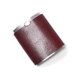 SALE S'FACTORYエスファクトリー ハニカム携帯灰皿 カウレザー レッド(牛革) 喫煙具 本革 レザー 牛革 黒