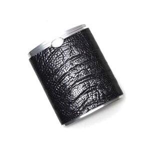 SALE S'FACTORYエスファクトリー ハニカム携帯灰皿 オーストレッグ(ダチョウ革) 喫煙具 本革 レザー ダチョウ革