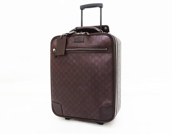 ♪☆◇【中古】 【GUCCI グッチ】 グッチシマ スーツケース 131170 スーツケース