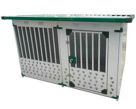 メタルテック ドッグハウス DFD-1 (0.5坪) 床付 (幅1820×奥行920×高さ1200mm) ~R~