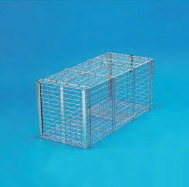 丸十金網 猫の保護器 (踏板式) 日本製 (幅280×高さ280×奥行650mm) ~R~