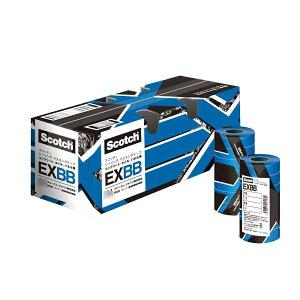 3M EXBB シーリングマスキングテープ コンクリート・タイル・パネル用 18ミリX18M [70個入] 【取寄】