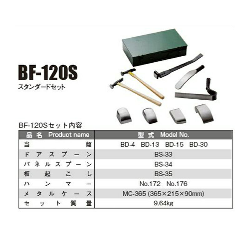 日平機器 BF-120S フェンダーツールセット [取寄]