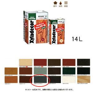[送料無料]大阪ガスケミカル キシラデコールフォレステージ #309 シルバグレイ 14L [取寄]