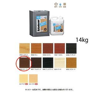 [送料無料]大阪ガスケミカル キシラデコールインテリアファイン #910 オリーブ 14kg [取寄]