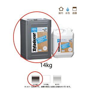[送料無料]大阪ガスケミカル キシラデコールインテリアファイントップコート つやあり 14kg [取寄]