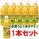 【送料無料】四季柑シークワーサー 500ml×11本セット