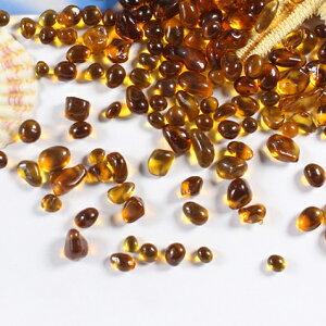 琥珀の種 ガラスの粒 10g
