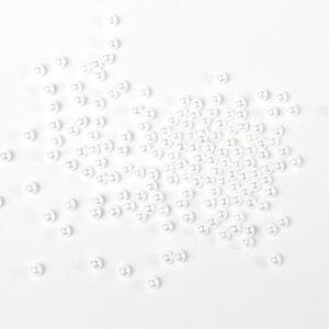 全球(穴なし)パール ホワイト1mm〜20mm/サイズ選択可