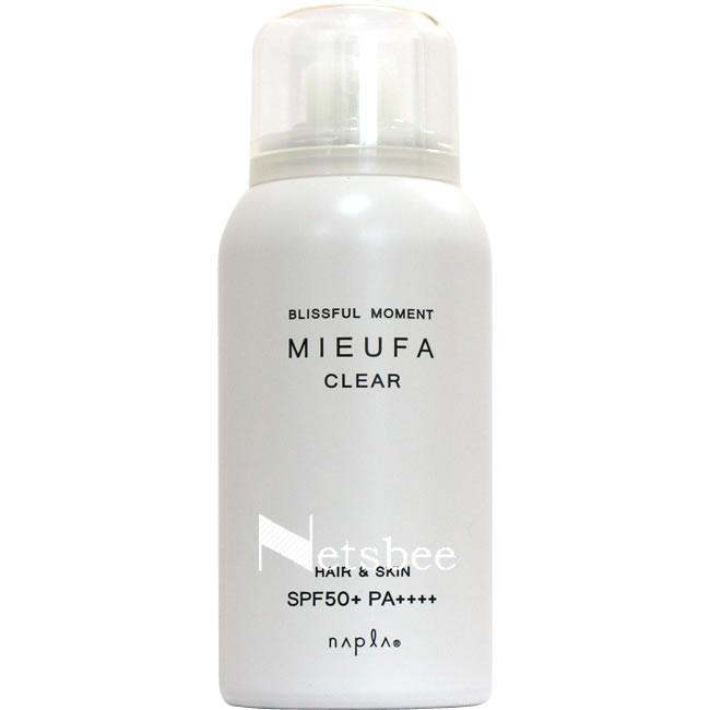 ナプラ ミーファ フレグランスUVスプレー (クリア) / 80g 【 洗い流さないトリートメント ツヤ・輝き 紫外線対策 】