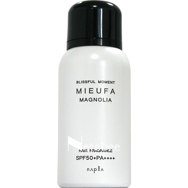 ナプラ ミーファ フレグランスUVスプレー (マグノリア) / 80g 【 洗い流さないトリートメント フレグランス 紫外線対策 】