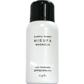[ 髪の日焼け止め UVカットスプレー ] ナプラ ミーファ フレグランス UVスプレー マグノリア 80g SPF50+ PA++++ サン カット スプレー 日焼け 止め おすすめ 紫外線 プロテクト UV カット スプレー 人気