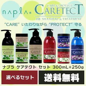 【送料無料】 ナプラ ケアテクト シャンプー & トリートメント ボトルセット /300mL+250g 【期間限定価格】