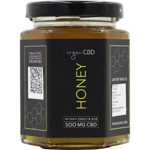 organi オルガニ CBD ハニー 内容量235g CBD500mg はちみつ 蜂蜜 オーガニック カンナビジオール MCTオイル ココナッツオイル