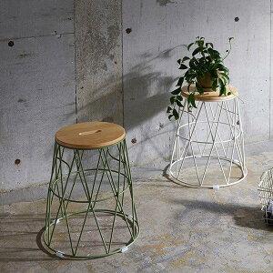 スツール おしゃれ 北欧 スチール 木製 椅子 チェアー サイドテーブル カラフル 飾り台