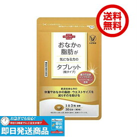【複数購入 割引クーポン配布中】おなかの脂肪が気になる方のタブレット  大正製薬 90粒 サプリメント