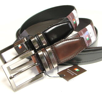 HOMME Italian leather genuine leather belt CB-21