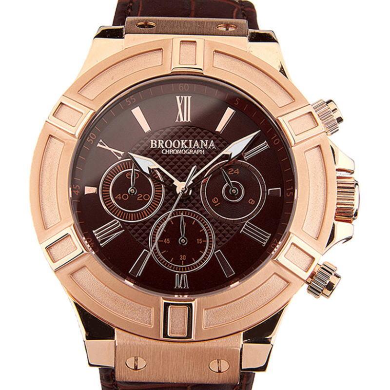 BROOKIANA(ブルッキアーナ)クロノグラフ腕時計 サンダーボルト THUNDERBOLT メンズウォッチ BA2308-RGBR