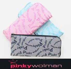 ピンキーウォルマン Pinky wolman Style-F L字ファスナーロングウォレット レディース長財布 84042 【あす楽対応】