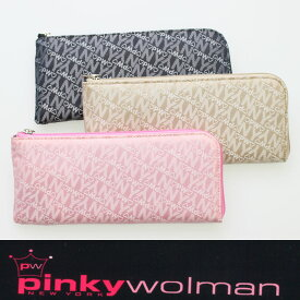 ピンキーウォルマン Pinky wolman Style-G L字ファスナーロングウォレット レディース長財布 84044 【あす楽対応】