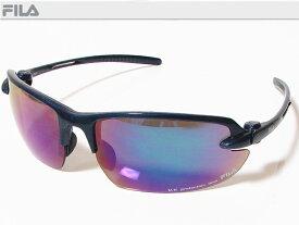 FILA フィラ スポーツサングラス ユニセックス ペアネイビー SF4005J-COL40 UV protection lens ゴルフその他スポーツレジャーなどに!【あす楽対応】