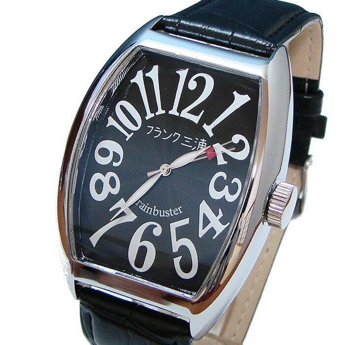 フランク三浦 復活!!新もでる Frank MIURA 腕時計 ハイパーブラック FM06K-B 【あす楽対応】
