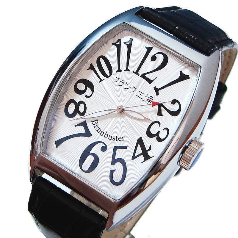 フランク三浦 復活!!新もでる Frank MIURA 腕時計 ハイパーホワイト FM06K-W 【あす楽対応】