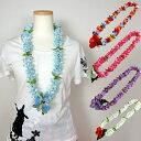 フラダンス レイ 首飾り ハワイアン Mini Rose Spring ALOHA HAWAII LEI L-118 14202