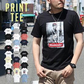 Tシャツ メンズ 半袖 おしゃれ シンプル ロゴ サーフ カジュアル ミリタリー ストリート 文字 半袖T クルーネック メール便のみ送料無料1♪