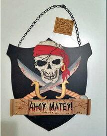 Ahoy、海賊サインプレート