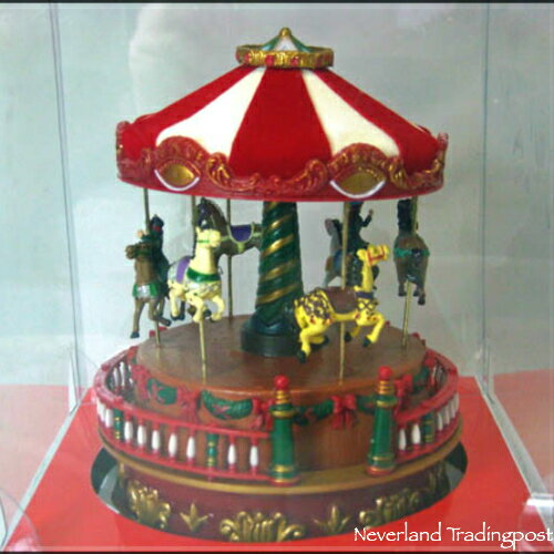 Music Box Carousel Horses