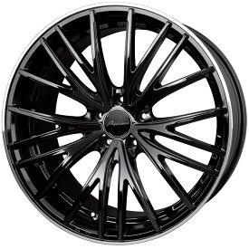 HOT STUFF ホットスタッフ Precious プレシャス AST M1 アストエムワン アルミホイール 4本セット 19インチ ブラック系 8.0J PCD114.3 5穴 メッシュ ワゴン・セダン・ミニバン・SUV