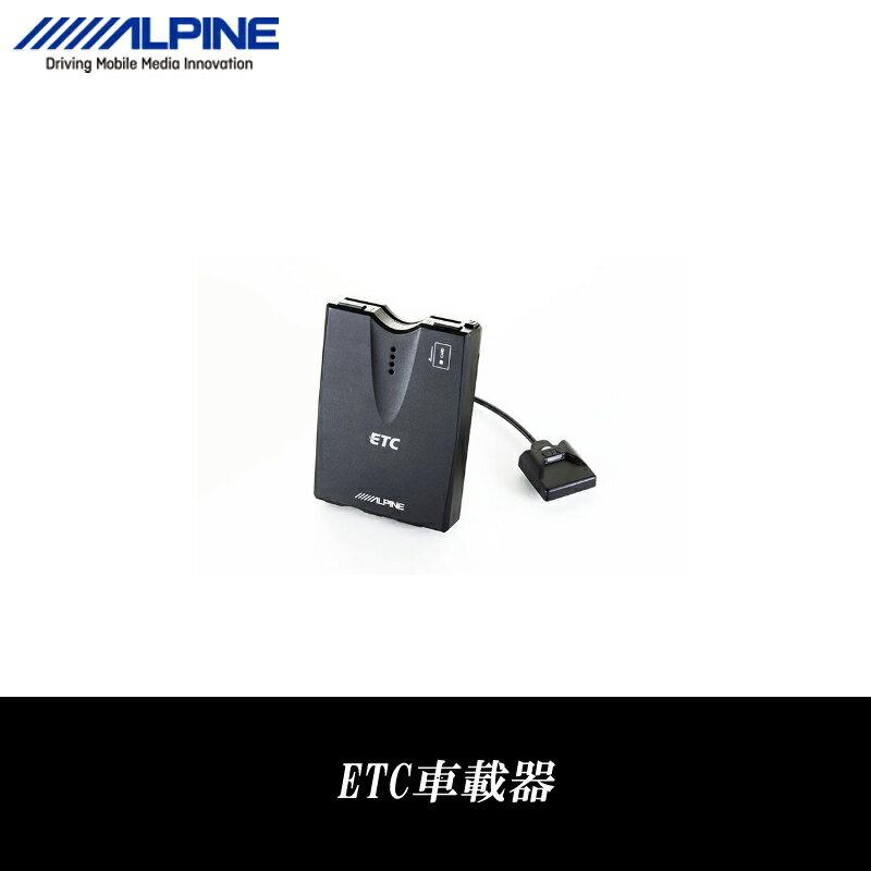 アルパイン ALPINE ETC車載器 ETC 本体 セットアップなし 音声案内 料金表示 HCE-B053