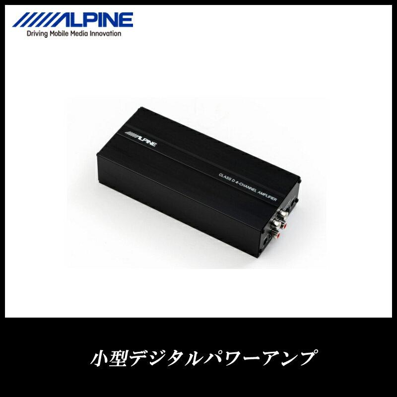 アルパイン ALPINE アンプ カーオーディオ 小型デジタルパワーアンプ KTP-600