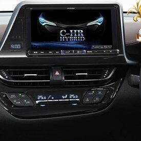 アルパイン ALPINE カーナビ ビッグX BIGX トヨタ C-HR CHR シーエイチアール 専用 9インチ 9型 新品 X9Z-CHR