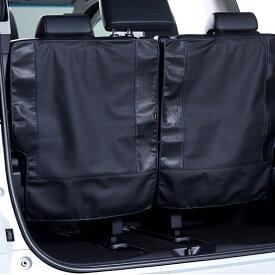 アルパイン ALPINE 3列目シートカバー 車 アルファード ヴェルファイア 専用 レザー 汚れ防止 サードシートバックカバー 新車計画 SSK-SB01AV